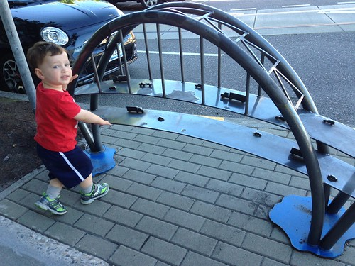 Fremont Bridge Bike Rack