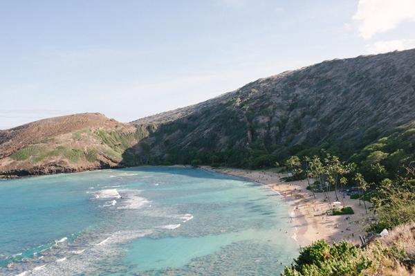 a short holiday in Hawaii
