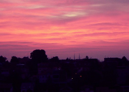 Sunrise in Zagreb 6:59 am