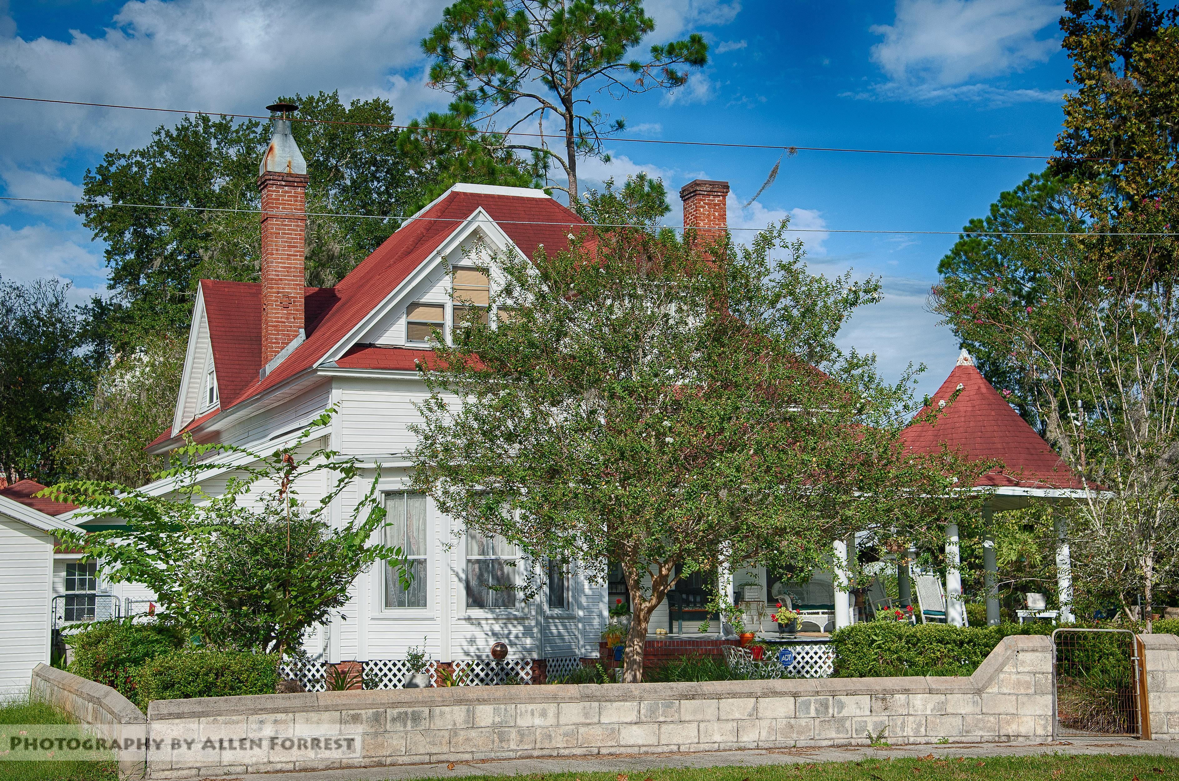 Florida Macclenny Oldhouse Queenanne Victorian Architecture Unitedstates