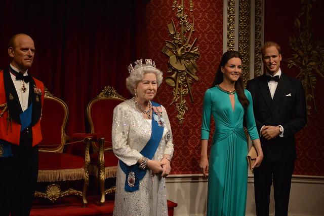 Philip, Elizabeth II, Kate and William