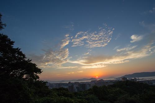 travel sunset japan landscape fukuoka magichour kyushu 九州 福岡 hakata 博多 fukuokaprefecture