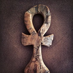 Carved out of driftwood I found on the beach :: Ankh creation contains all the sacred geometry principles applied ::