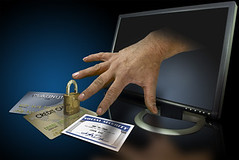 the fraudulent acquisition and use of a person's private identifying information, usually for financial gain.
