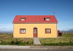 Lonely house - seen in Sauðárkrókur/Iceland