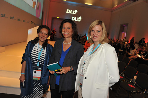 DLD Women 2014 Conference Day 2 at Haus der Kunst in Munich, 22.07.2014