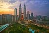 Petronas Towers - Kaula Lampur - Malaysia