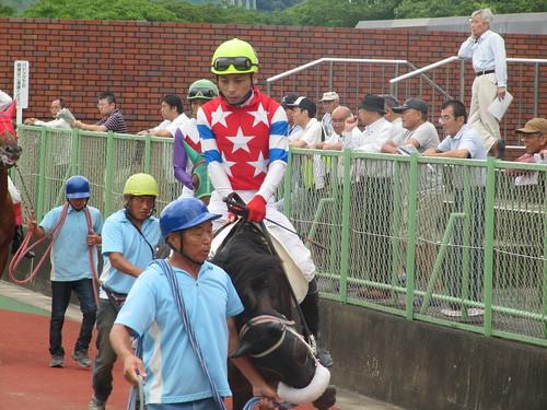 佐賀競馬場の倉富隆一郎騎手