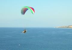 sailing(0.0), paragliding(1.0), parachute(1.0), air sports(1.0), sports(1.0), sea(1.0), parasailing(1.0), parachuting(1.0), windsports(1.0), extreme sport(1.0),