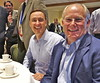 Lunch with Andy Aldrin at NewSpace 2014