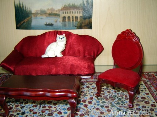 dollhouse sofa