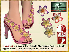 Bliensen - Hanalei - shoes for Slink Mid Feet - pink
