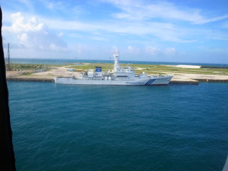看到了日本的海上保安鑑