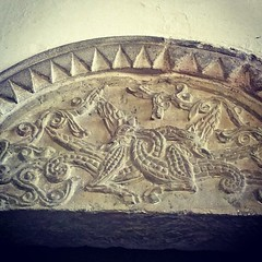 Amazing 900 year old carving at St Michael's