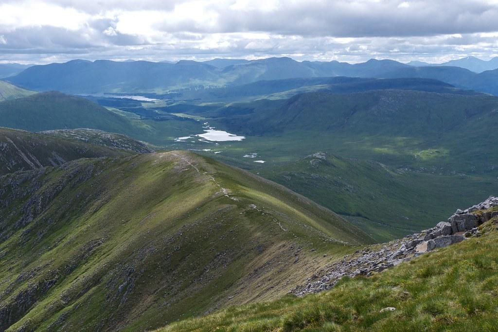 Loch Dochard from Glas Bheinn Mhor