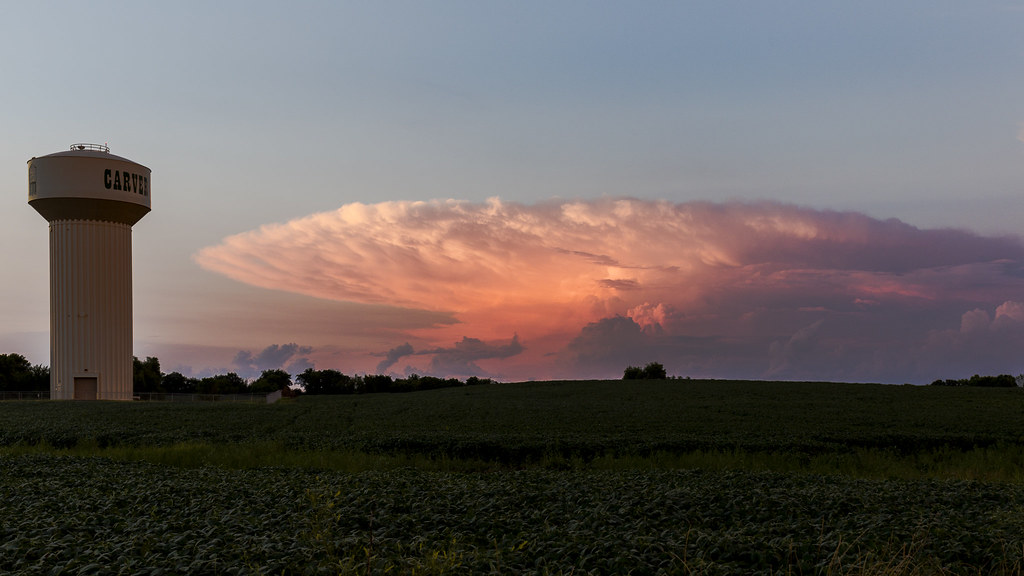Supercell Sunset