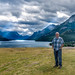 Me in Waterton, Alberta, Canada by Pat Kavanagh