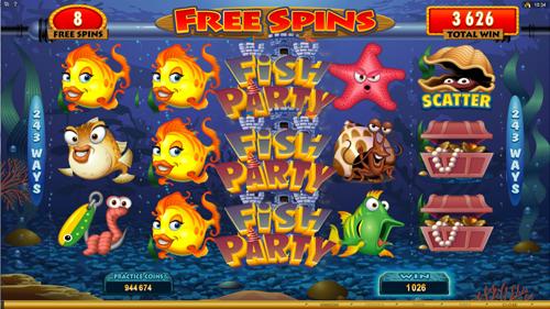 Fish Party Bonus