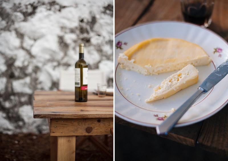 Queijo e vinho da ilha do pico