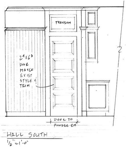Elevation - Hall South