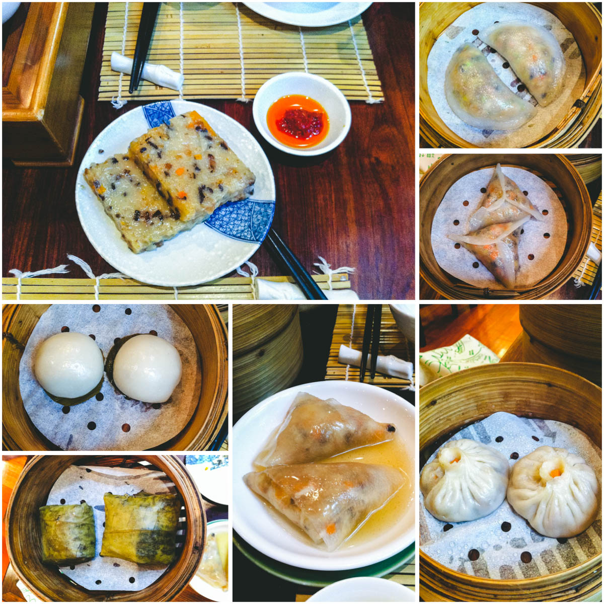 Lock Cha Tea House Vegan Dimsum