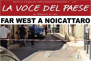 Noicattaro. Prima pagina n. 32-2014 front