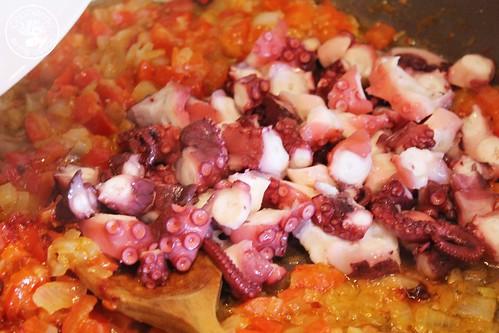 Arroz con pulpo www.cocinandoentreolivos.com (18)