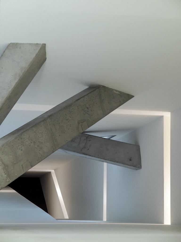 Architecture à Berlin - Détail de la structure du musée juif