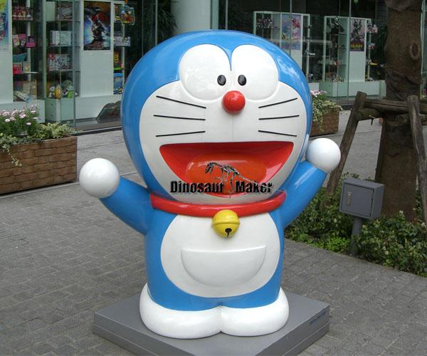 Fiberglass Doraemon Statue