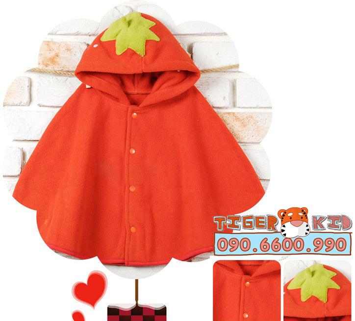 Quần áo trẻ em, bodysuit, Carter, đầm bé gái cao cấp, quần áo trẻ em nhập khẩu, M122 Áo Choàng Vịt, Ếch, Dâu