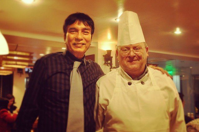 Pastor Brian and Chef Paul