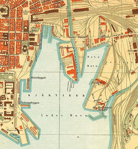Bjørvika_map_1917