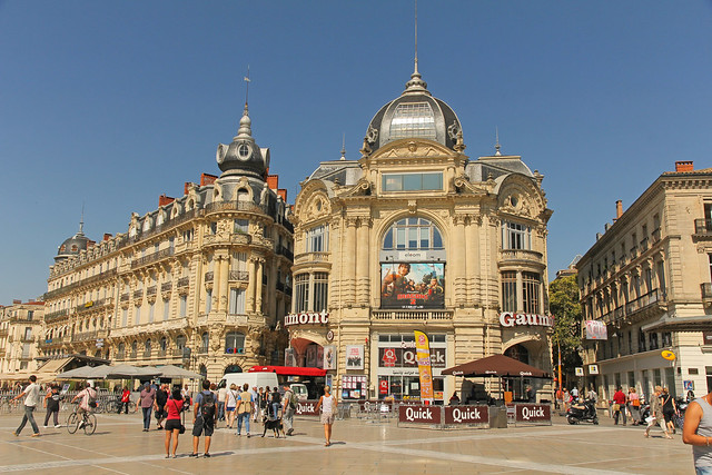 place de la com die montpellier france flickr. Black Bedroom Furniture Sets. Home Design Ideas