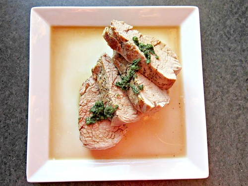 Pork Tenderloin with Marsala and Sage Sauce