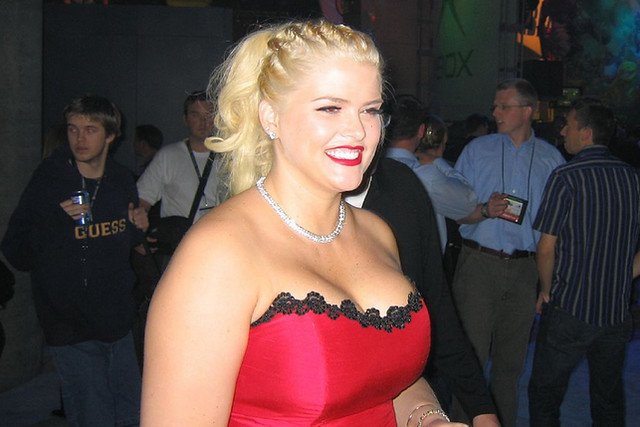 Anna Nicole Smith in 2003 © Chris Olsen, 2003