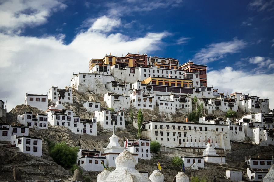 Тикси Гомпа (монастырь Тиксей) - авторские туры в Ладакх, Индия, тревел фото