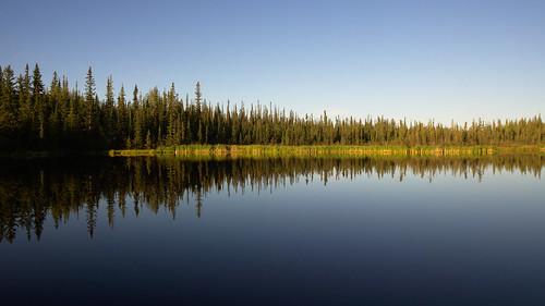 reflection water alaska trails fairbanks universityofalaska ballaine farmersloop ballainelake