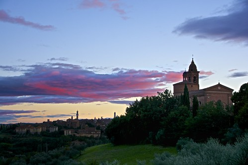 Sunset on Siena