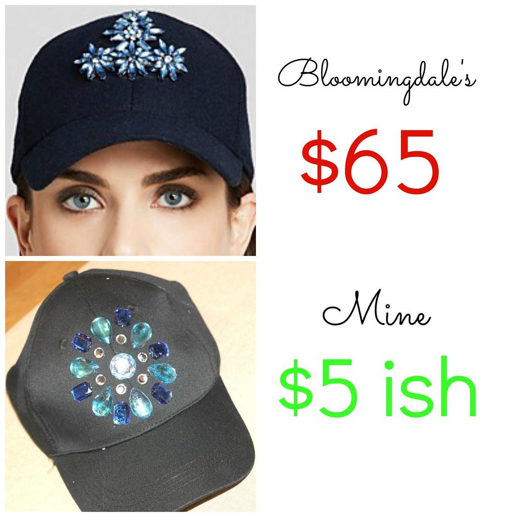DIY Rhinestone Hat 6