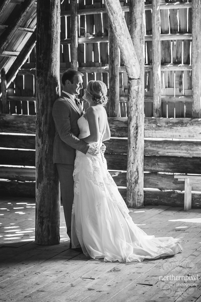 Prince George BC Wedding at Huble Homestead