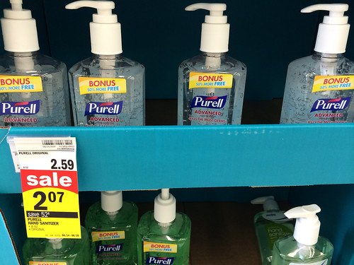 graphic about Purell Coupons Printable identify Purell Hand Sanitizer: No cost at Walgreens and 0.07 at Meijer
