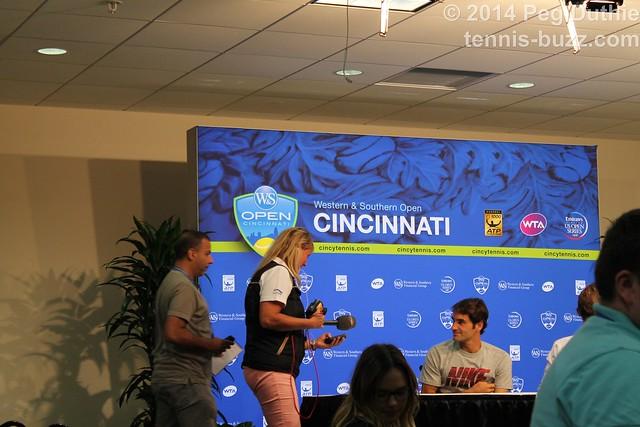Roger Federer press conference