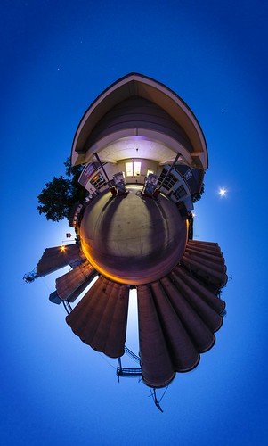 "Glasgow ""Glasgow Missouri"" Missouri ""Howard County"" Notley ""Notley Hawkins"" 10thavenue ""Missouri Photography"" ""Notley Hawkins Photography"" pano 360 planet ""little planet"" 2014 evening sunset PTgui ""Flexify 2"" September ""Sigma 8 MM"" ""Gas Station"" silos ""grain silos"" ""grain elevators"" ""blue hour"""