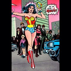 """As of now -- I QUIT!"" #WonderWoman #comicbooks"