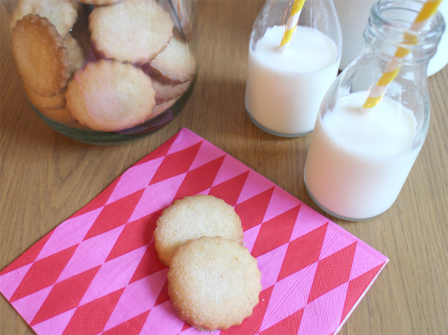 GBBO Lemon Biscuits