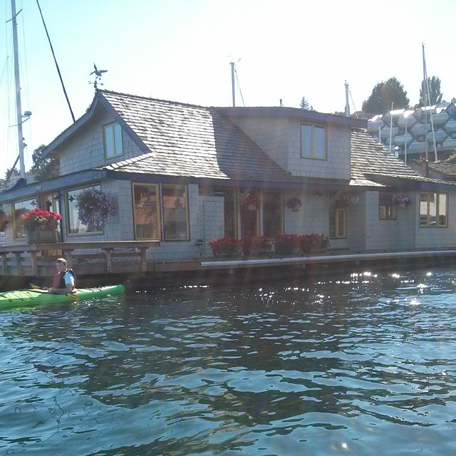 Sleepless In Seattle Floating Home Houseboat Flickr