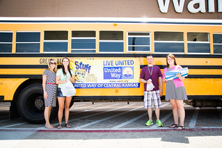 United Way Stuff the Bus
