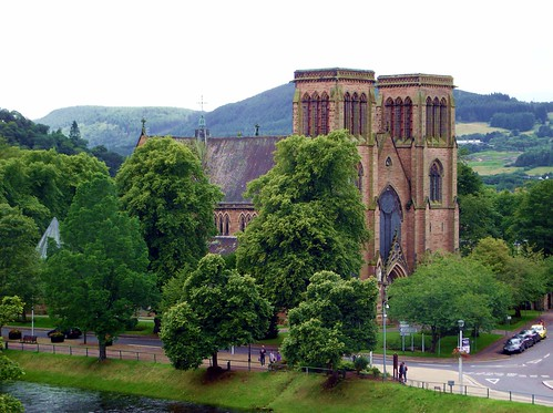 St Andrew's Cathedral in Inverness Scotland