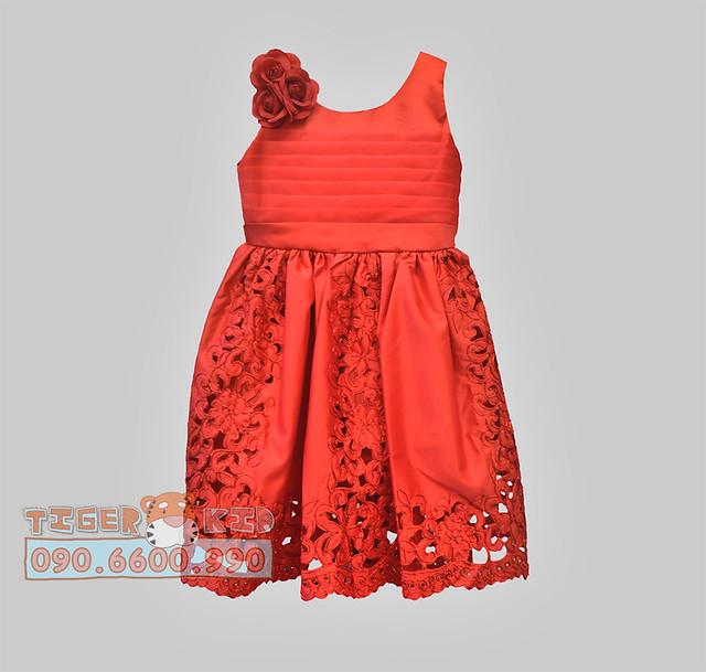 Quần áo trẻ em, bodysuit, Carter, đầm bé gái cao cấp, quần áo trẻ em nhập khẩu, Đầm dạ hội hoa văn đặc sắc dành cho bé gái_Hết
