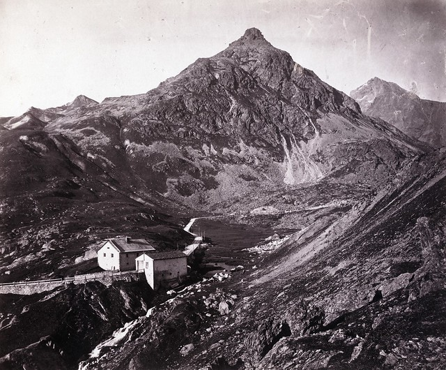 Adolphe Braun - Julier Pass, Switzerland, ca 1865